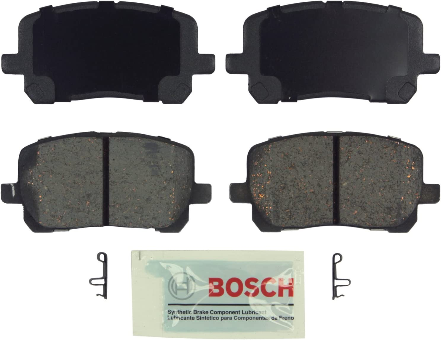 Ceramic Discs Brake Pads,SCITOO 4pcs Front Brake Pads fit for 2003 04 05 06 07 2008 Pontiac Vibe,2003 04 05 06 07 2008 Toyota Corolla,2003 04 05 06 07 2008 Toyota Matrix
