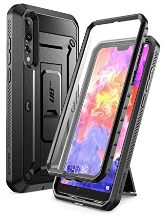 brand new 4e095 0f891 SUPCASE Huawei P20 Pro Case, Full-Body Rugged Holster Cover with Built-In  Screen Protector for Huawei P20 Pro (2018 Release) Not for Huawei P20, ...