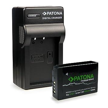 3in1 Cargador + Premium Batería LP-E17 para Canon EOS 750D | 760D | 8000D | Kiss X8i | Rebel | Rebel T6i | Rebel T6s | T6i | T6s