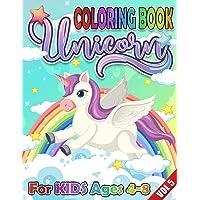 Unicorn Kids Coloring Book: Unique Unicorns Coloring Book for Kids, Fun Color Activity for Children Vol 5