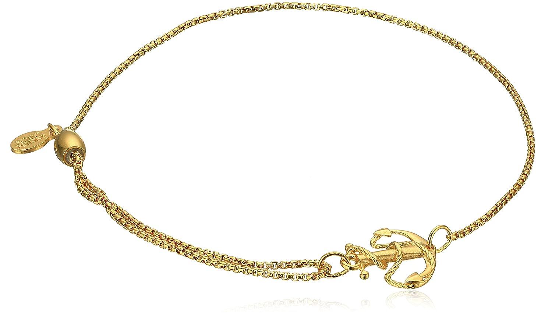 Alex Ani Chain Bracelet Anchor Image 1