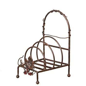 Your Heart\u0027s Delight Tuscan Decorative Plate Rack 7 by 12-1/2 by  sc 1 st  Amazon.com & Amazon.com - Your Heart\u0027s Delight Tuscan Decorative Plate Rack 7 ...