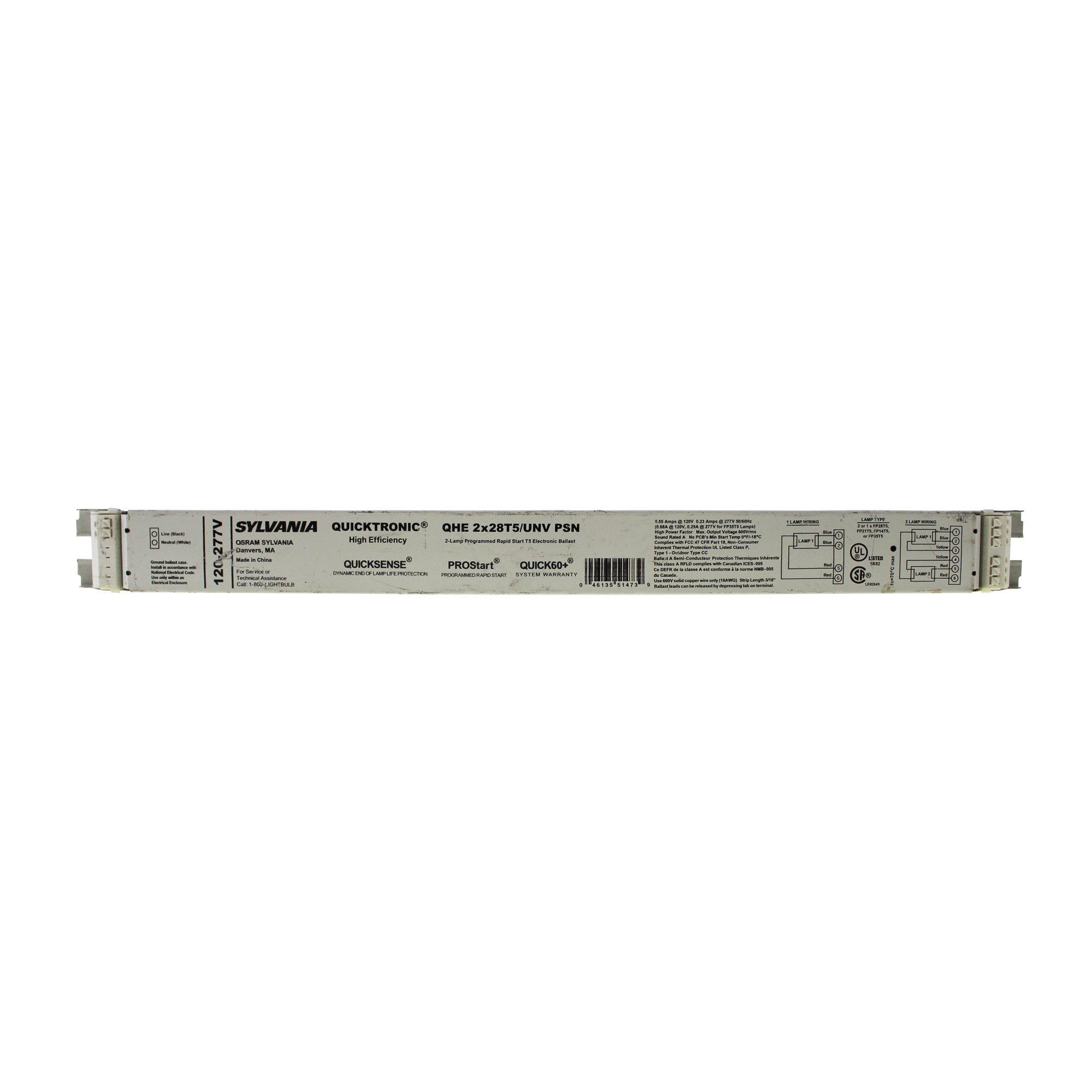 Osram Sylvania 51472 - QHE2X28T5/UNV PSN T5 Fluorescent Ballast