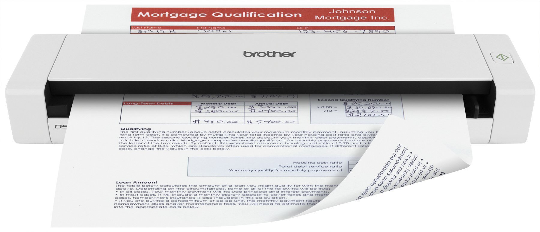 Brother Printer RDS720D Document Scanner (Certified Refurbished)