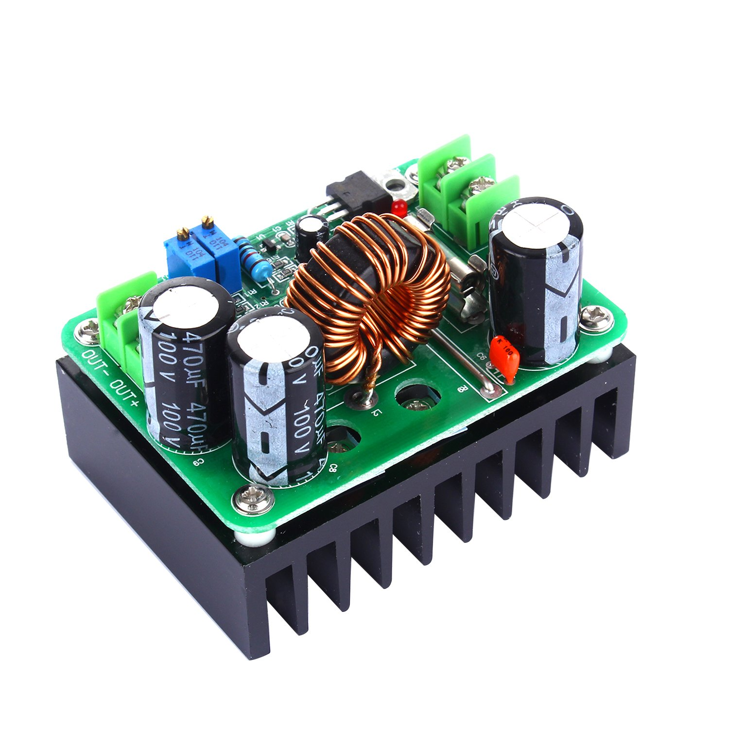 tinxi® 600W DC 10-60V To 12-80V Step-up Module Boost Power Suppy DC Converter 670280000