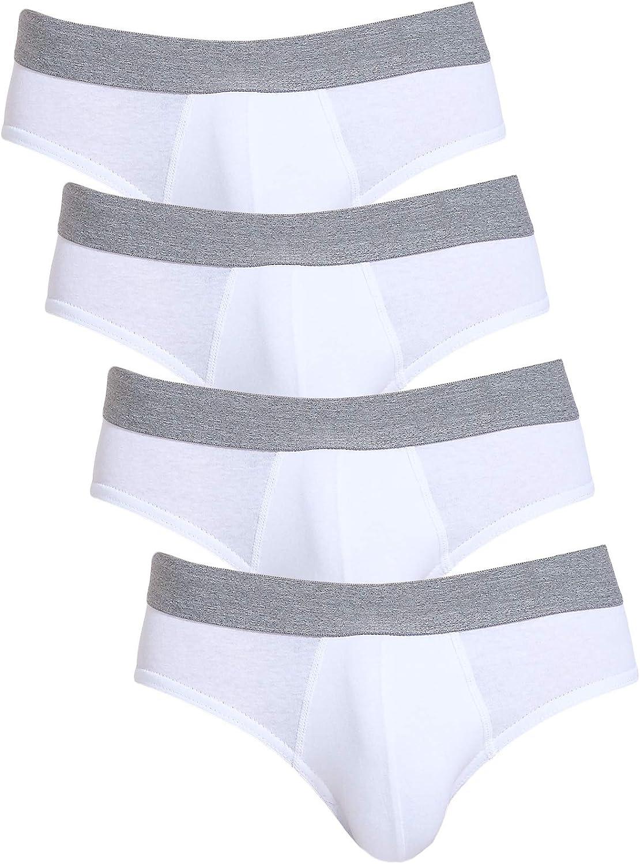 Gesean Men's Underwear Soft Briefs Breathable Stretch Underwear for Men