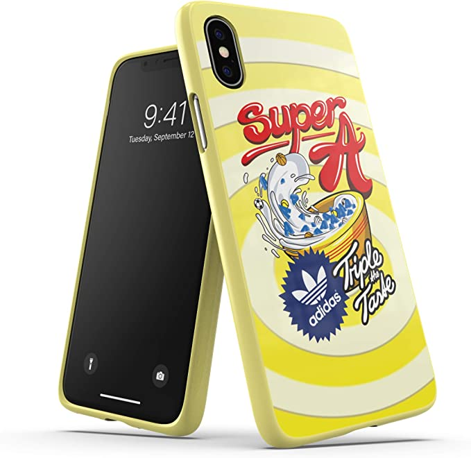Adidas Originals Phone Case Handyhülle Schutzhülle Kompatibel Mit Iphone X Xs Gelb Yellow Elektronik
