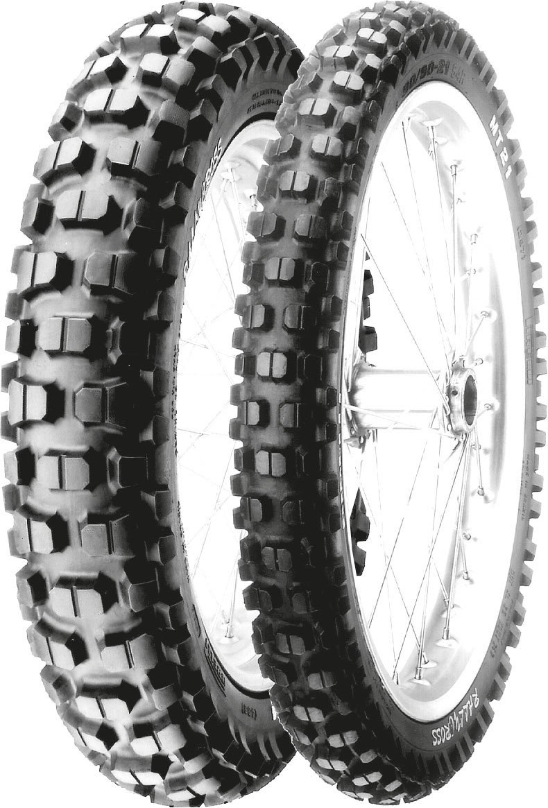 Pirelli MT 21 Tire - Rear - 130/90-17 , Tire Size: 130/90-17, Tire Type: Dual Sport, Rim Size: 17, Position: Rear, Load Rating: 68, Speed Rating: P, Tire Application: All-Terrain 0697800