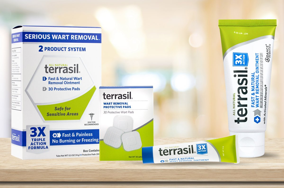 Wart Remover - Safe for Sensitive Skin Dr Recommended 100% Guaranteed All Natural Pain Free Salicylic Acid Free Patented Treatment for Plantar Genital Facial Warts by Terrasil by Aidance Skincare & Topical Solutions (Image #6)