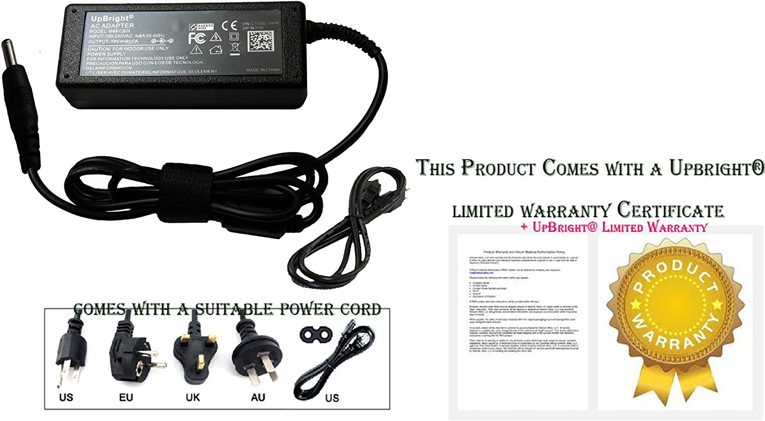 ASUS 19V 2.37A 45W AC Adapter for Asus Zenbook UX21E and UX31E Series Notebooks (ADP-45AW)