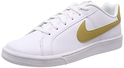best loved cc0cf a43ad Nike Court Royale Baskets Homme, Blanc (White Club Gold 106) 41 EU