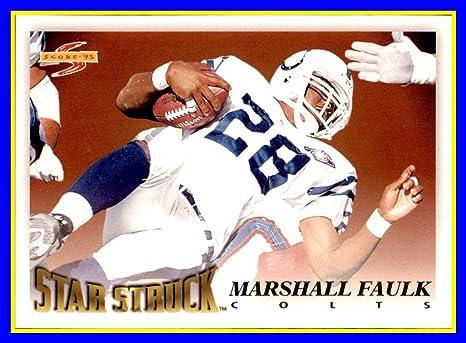 MARSHALL FAULK ST LOUIS RAMS 8X10 SPORTS PHOTO #30