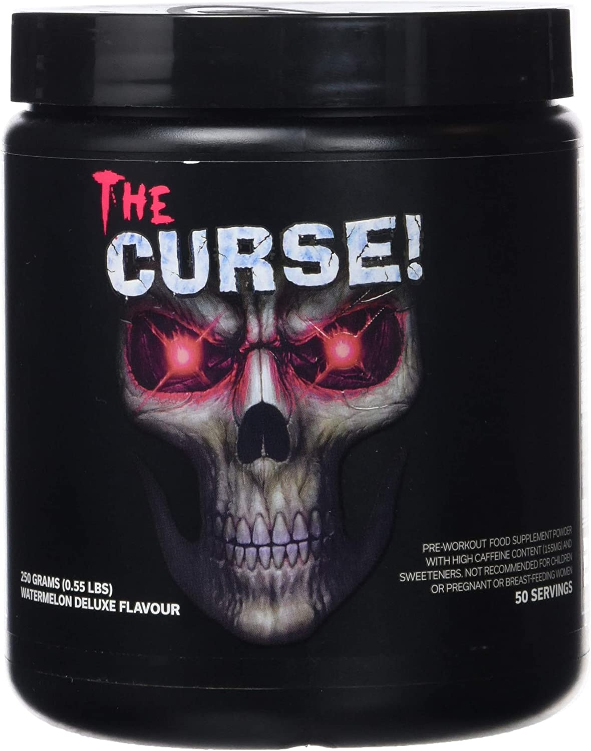 Cobra Labs The Curse Pre-Workout, Watermelon Deluxe, 50 Servings