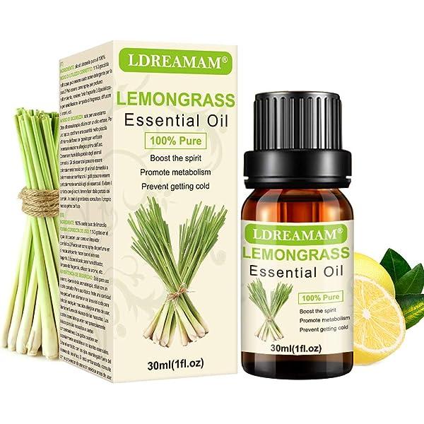 Lemongrass Aceite Esencial, Aceite de Limoncillo, Aceites ...