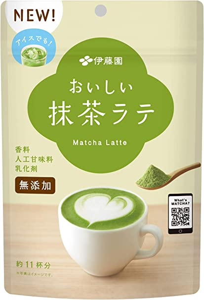 伊藤園 おいしい抹茶ラテ 160g