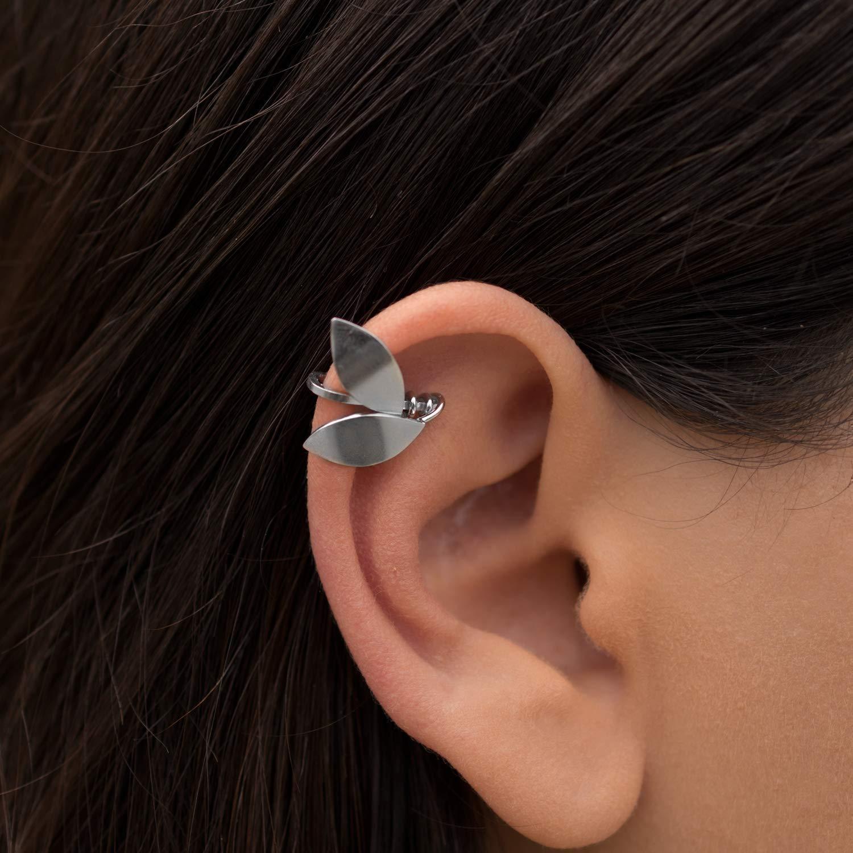 Elf Ear Cuff Earring Helix Ear Cuff No Piercing Leaf Earring