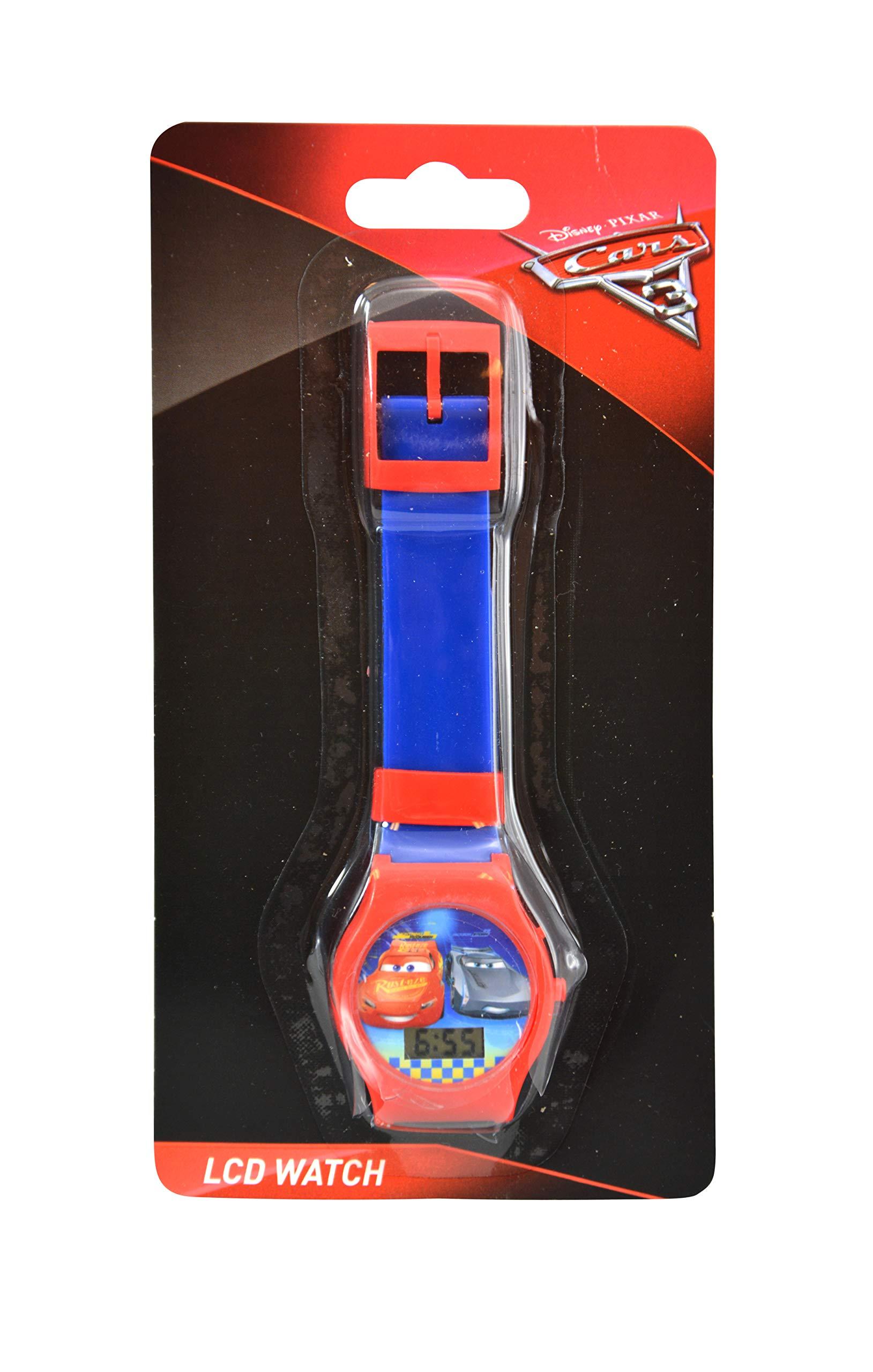 Karacter Box Disney Cars 3 LCD Digital Watch, 6-Pack Party Favors by Karacter Box (Image #3)