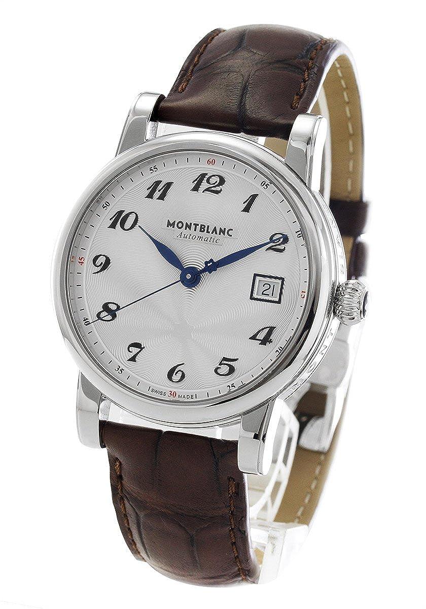 モンブラン スター デイト アリゲーターレザー 腕時計 メンズ MONTBLANC 107315[並行輸入品] B015GXMYVI