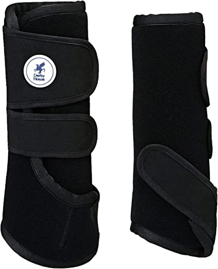 Derby House Pro Sport Exercise Boots Pony Black