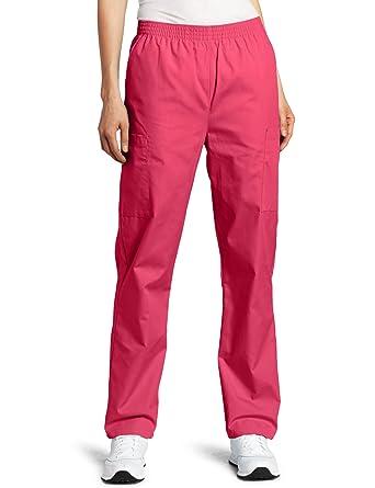 28f77d0da0e Amazon.com  Dickies Scrubs Women s Tall Elastic Waist Pant  Medical ...