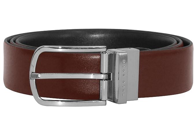 08eac4cb20 Boss 50389990 Mens Reversible Belt Owen-B: Amazon.co.uk: Clothing