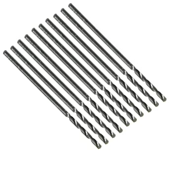 HSS Spiralbohrer 3,2 mm Bohrer rollgewalzt Metallbohrer Metall 10 Stck