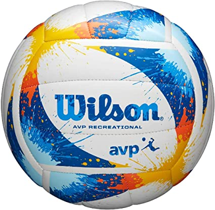Wilson WTH30120XB Balón de Voléibol, Avp Splatter, Cuero Sintético ...