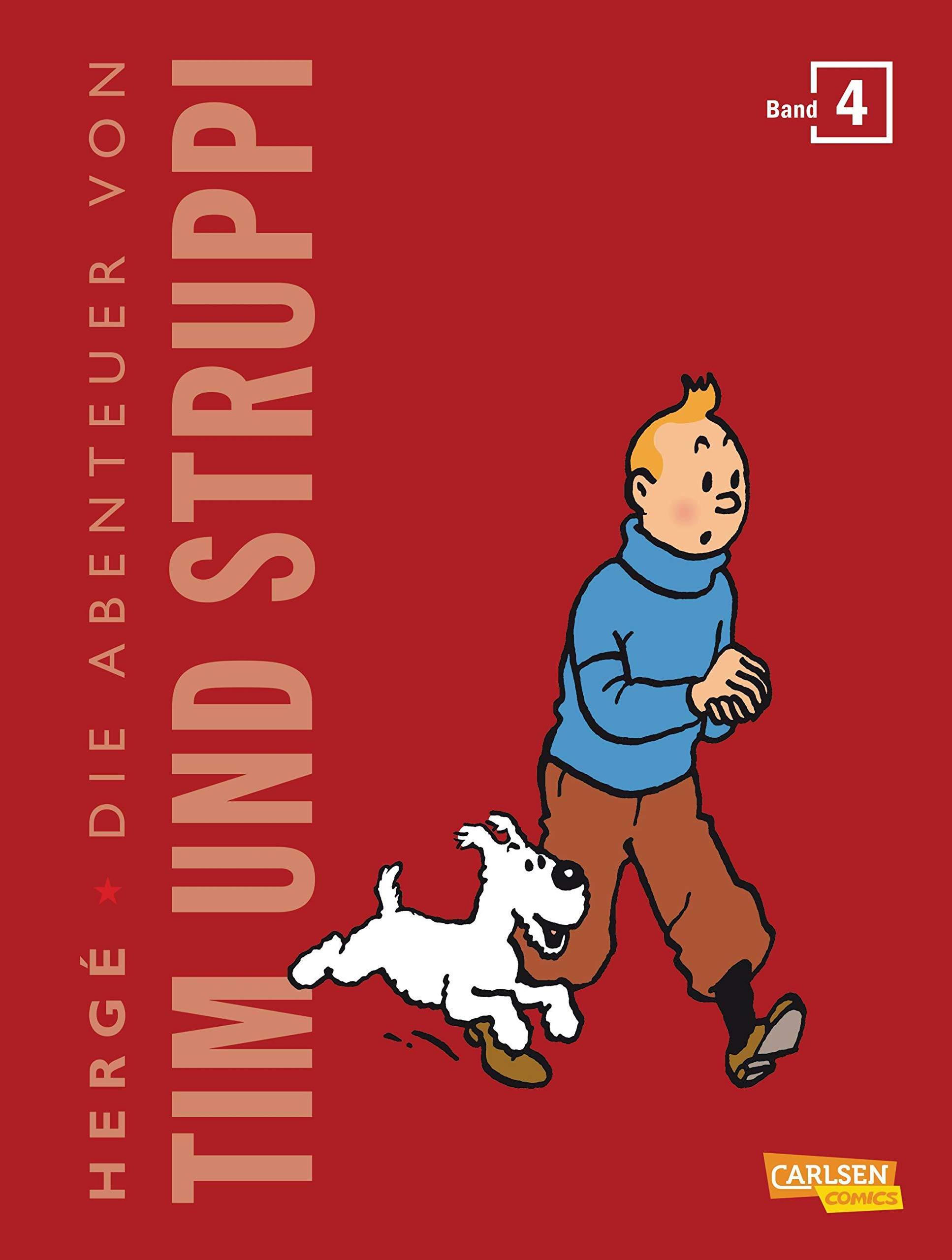Tim Und Struppi Kompaktausgabe 4  4