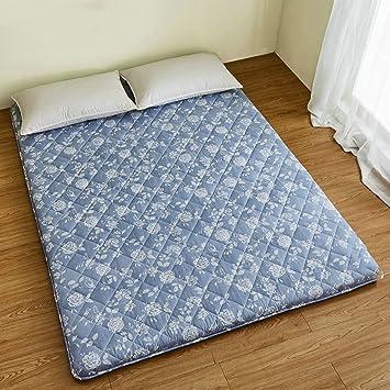 pad mat folding comfortable tatami futon mats mattress floor sleeping com breathable amazon dp e ground bedroom topper