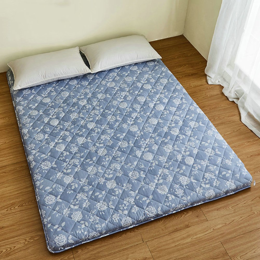 Tatami mattress bedroom folding/Comfortable and breathable sleeping mat of ground floor-A 150x200cm(59x79inch)
