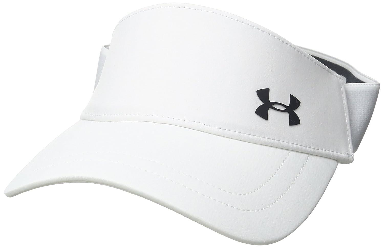 Under Armour Visor Gorra de béisbol, Mujer, Blanco (White), OSFA 1277414