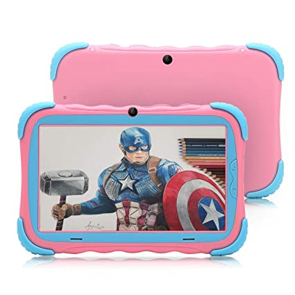 Tablet para Niños 7 Pulgadas Android 7.1 Quad Core 16GB Google ...