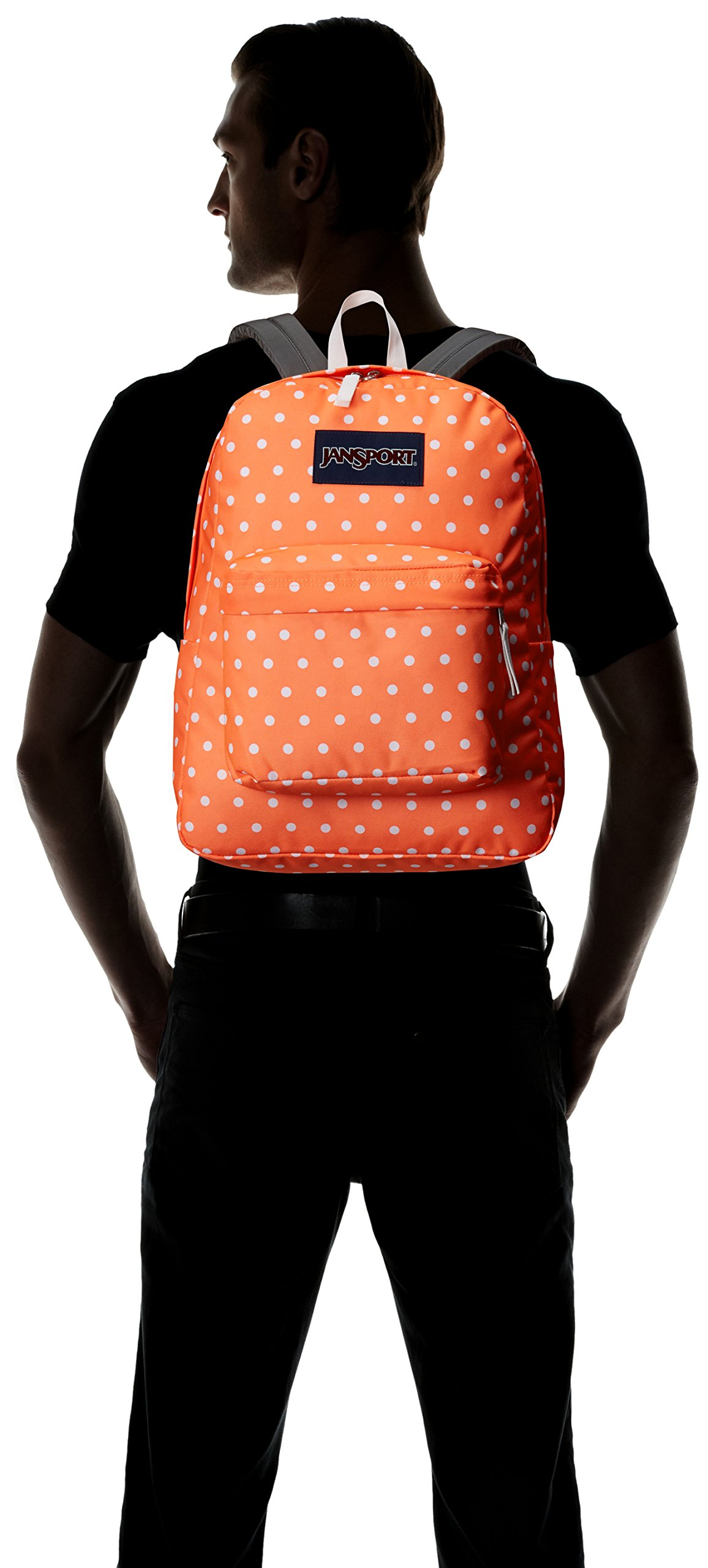 JanSport Superbreak, Tahitian Orange/White Dots, One Size by JanSport (Image #4)