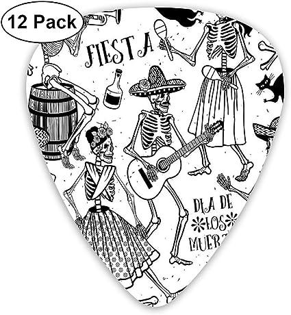 Púas de guitarra – Arte abstracto diseños coloridos, étnico azteca ...