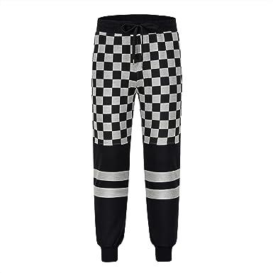 Frozac Joggers Pantalones Hombres Street Wear Fitness Pantalones Funky Sudor Pantalones Casual Gris L