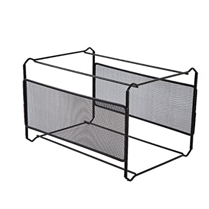 Admirable Amazon Com Bookcase Iron Net Hanging Rack Hanging Folder Home Interior And Landscaping Synyenasavecom