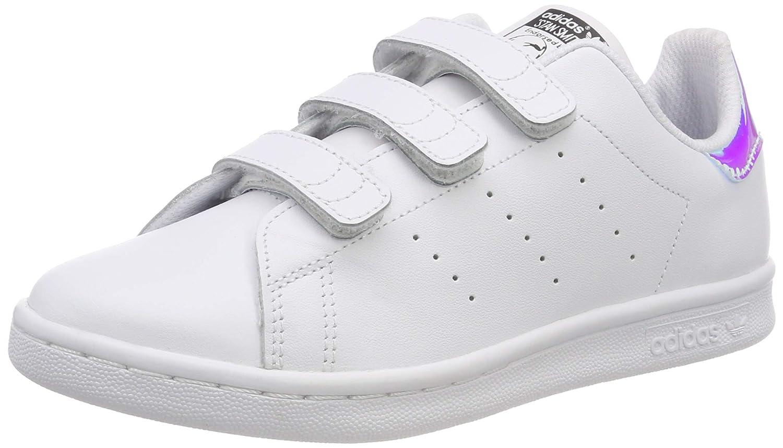 Détails sur adidas Stan Smith Cf C Chaussures Blanc Enfants