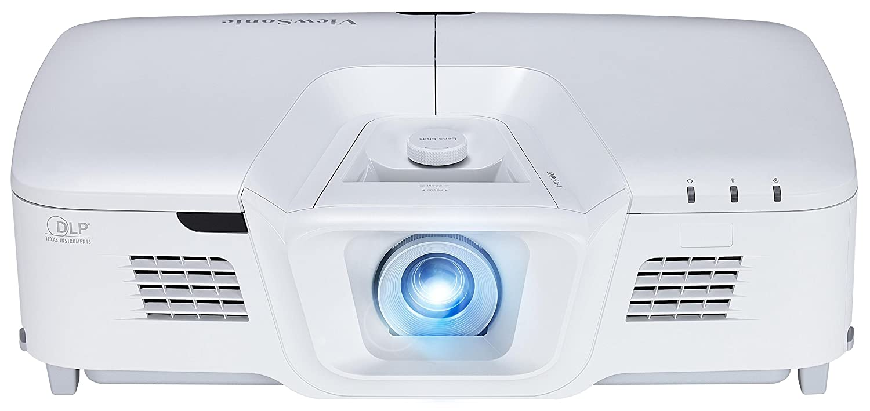 Viewsonic PG800HD Business DLP Projektor (Full-HD, 5.000 ANSI Lumen, HDMI, USB, 2x 10 Watt Lautsprecher, 1.3x optischer Zoom) Weiß 2x 10 Watt Lautsprecher