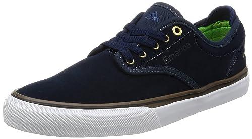 Emerica Wino G6, Zapatillas de Skateboarding para Hombre, Azul (Navy Gum White 463 463), 39 EU