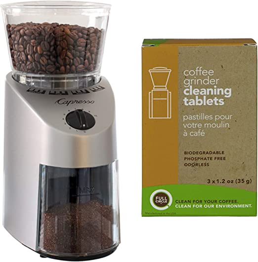 Capresso 560.04 Infinity Commercial Grade Conical Burr Coffee Grinder Review