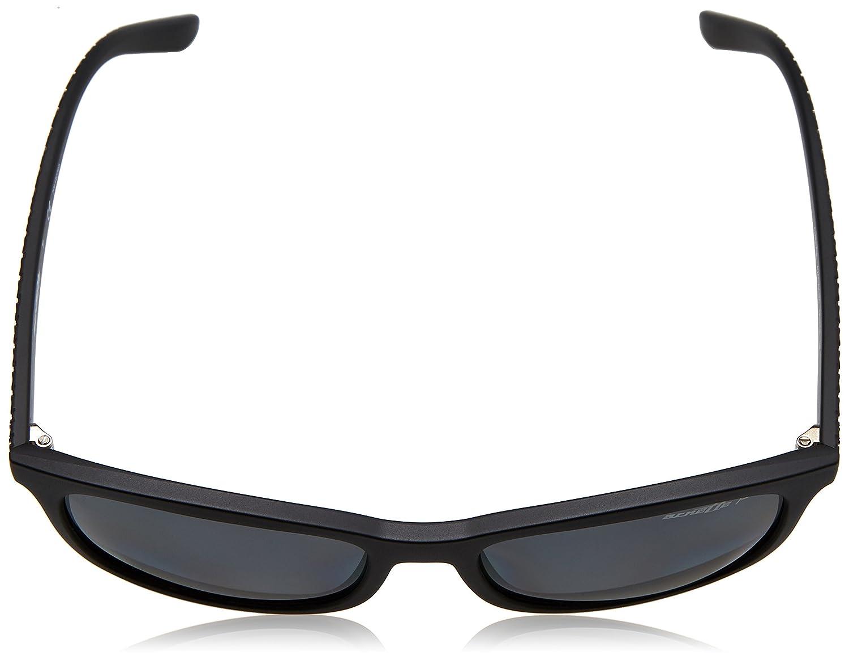 Arnette Herren Sonnenbrille 0AN4238 0181 55, Schwarz (Matte
