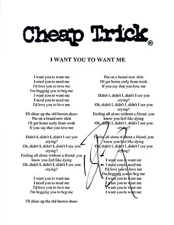 i need you i want you lyrics