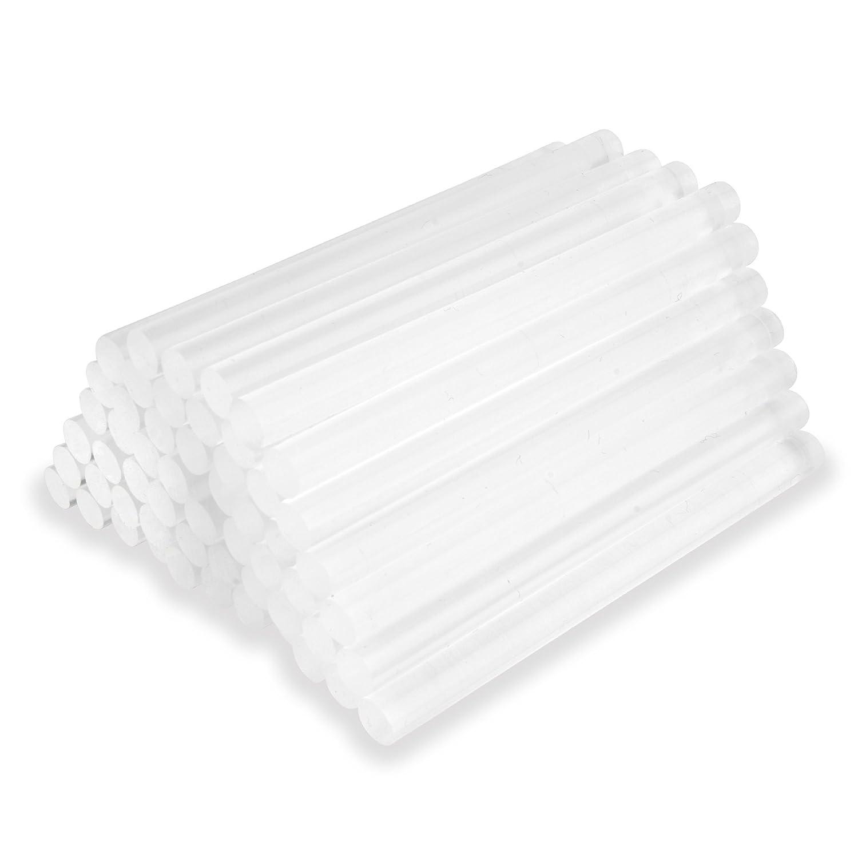 Nayka Bâtons de colle chaude (55-pack)–Ultra clair Hot Melt Colle de bricolage pour loisirs créatifs, travail du bois, plastiques, tissu, céramique, pistolet à colle et bien plus encore–7.4&nbs