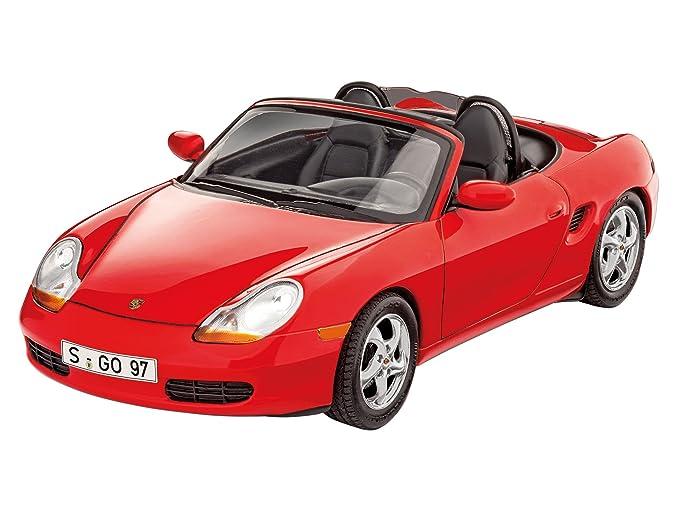 Revell Maqueta Porsche Boxster, Kit Modelo, Escala 1:24 (7690)(07690), 18,1 cm de Largo: Amazon.es: Juguetes y juegos