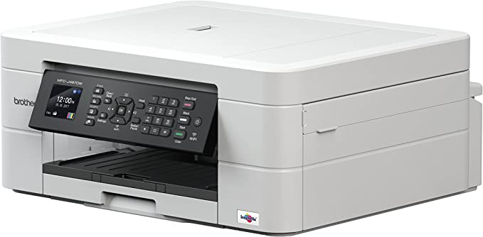 Impresora multifunción Brother mfc-j497dw 4 en 1| Couleur|écran LCD|a4|chargeur automático de documents|Impression Recto-Verso, escáner, copiadora, télécopie|wi-fi/Wi-Fi Direct|: Amazon.es: Informática