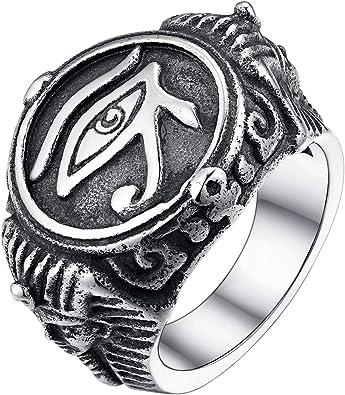 bague bijoux egyptien homme