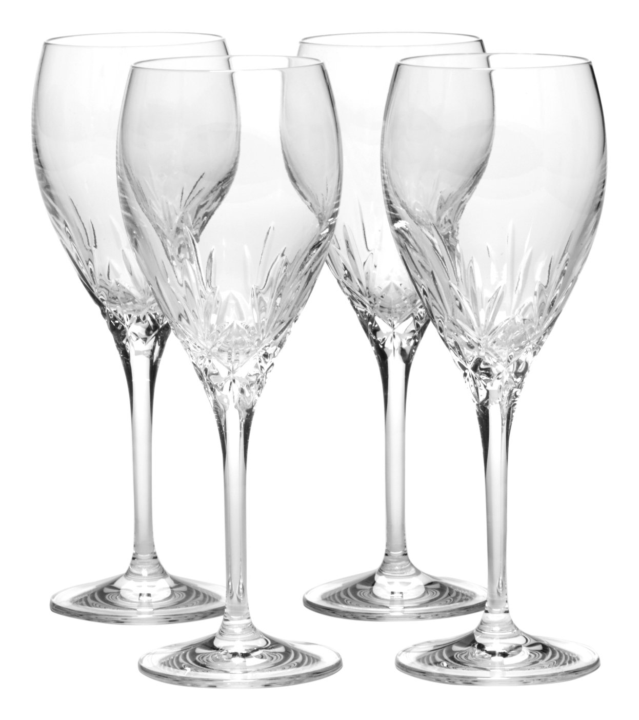 Mikasa Orion Goblet (Set of 4), 10.25 oz, Clear 5123616