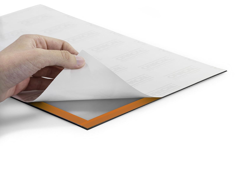 argento metallizzato cornice espositiva adesiva f.to poster stabilizzatore UV Duraframe Poster f.to 70x100 cm DURABLE 499223