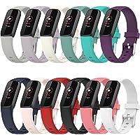 Shieranlee Pasek do zegarka kompatybilny z Fitbit Luxe Activity Tracker - zamiennik paska do zegarka silikonowy pasek