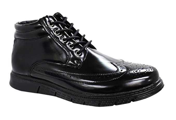 Vernice Sneakers Eleganti Casual Nero Stringhe Scarpe Uomo Calzature dshQCtrx